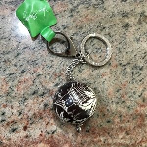 Vera Bradley Have a Ball Keychain in Imperial Toil